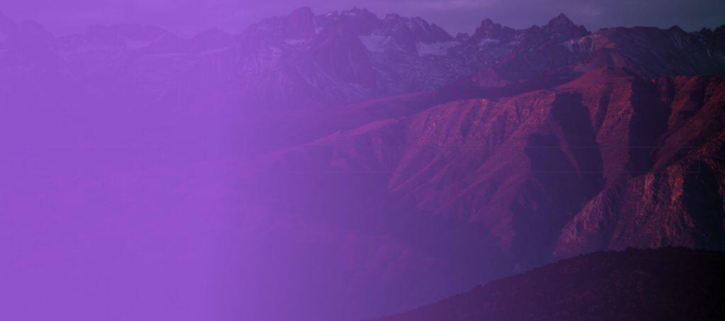 A purple gradient overlay in GenerateBlocks