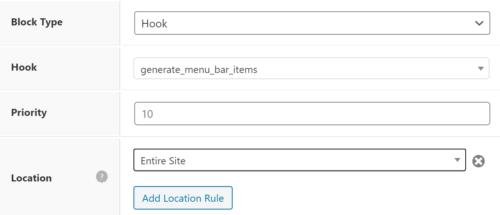 Placing the Block Element in GeneratePress
