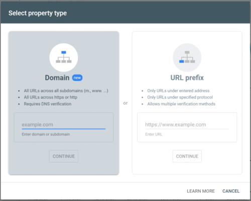 Setting up a Google Search Console property for SEOPress
